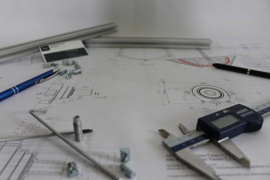 Konstruktionsritningar